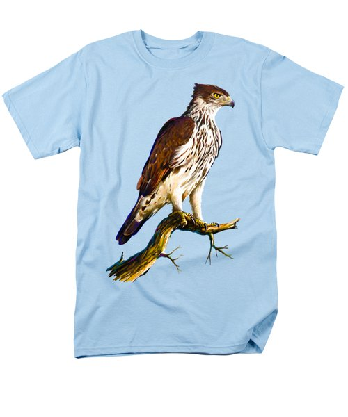 African Hawk Eagle Men's T-Shirt  (Regular Fit) by Anthony Mwangi