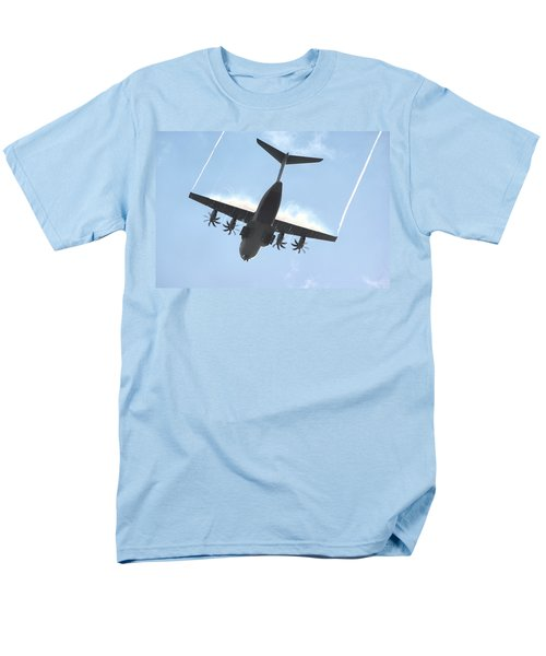 Men's T-Shirt  (Regular Fit) featuring the photograph Airbus A400m by Tim Beach