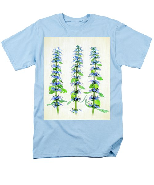 Ajuga Blooms Men's T-Shirt  (Regular Fit) by Robert FERD Frank