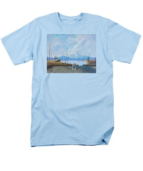 Alaskan Atm Men's T-Shirt  (Regular Fit) by Richard Faulkner