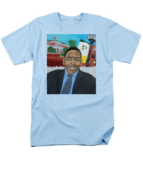 Alex Men's T-Shirt  (Regular Fit) by Angelo Thomas
