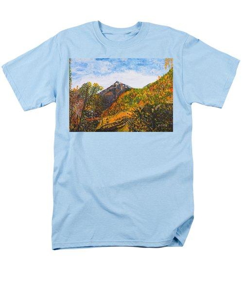 Algund View Men's T-Shirt  (Regular Fit)