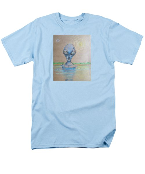 Alien Submerged Men's T-Shirt  (Regular Fit)