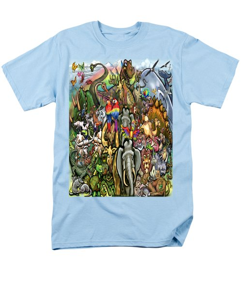 All Creatures Great Small Men's T-Shirt  (Regular Fit) by Kevin Middleton