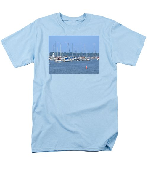 Men's T-Shirt  (Regular Fit) featuring the photograph All In Line by Newwwman