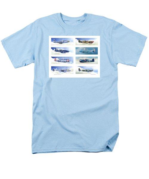 Allied Fighters Of The Second World War Men's T-Shirt  (Regular Fit) by Douglas Castleman
