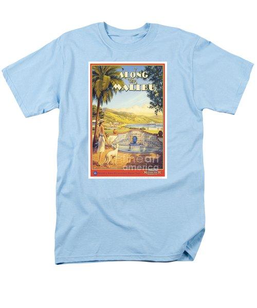 Along The Malibu Men's T-Shirt  (Regular Fit) by Nostalgic Prints