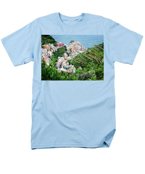 Along The Via Del Amore Men's T-Shirt  (Regular Fit) by William Beuther
