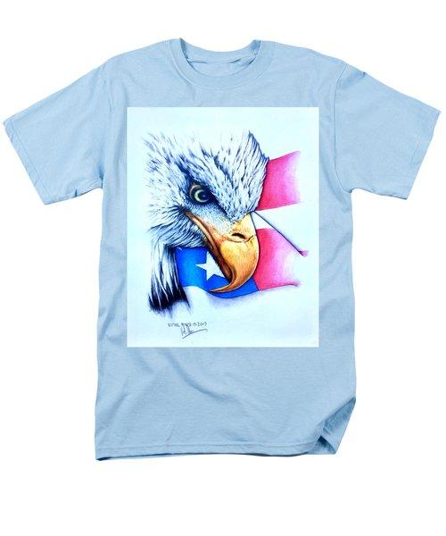 America Men's T-Shirt  (Regular Fit) by Victor Minca