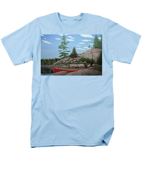Among The Rocks II Men's T-Shirt  (Regular Fit) by Kenneth M  Kirsch