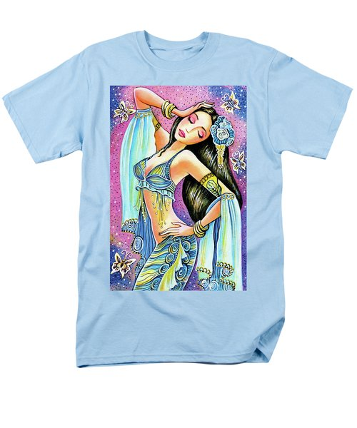 Men's T-Shirt  (Regular Fit) featuring the painting Amrita by Eva Campbell