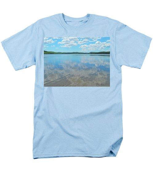 Anasagunticook Lake, Canton, Me, Usa 10 Men's T-Shirt  (Regular Fit) by George Ramos