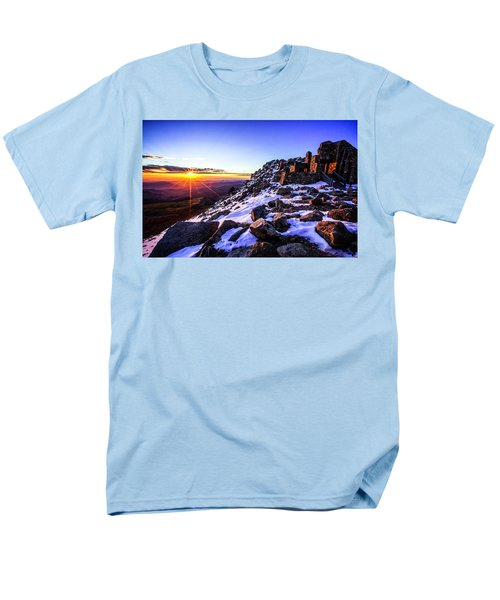 And Then There Was Light Men's T-Shirt  (Regular Fit)