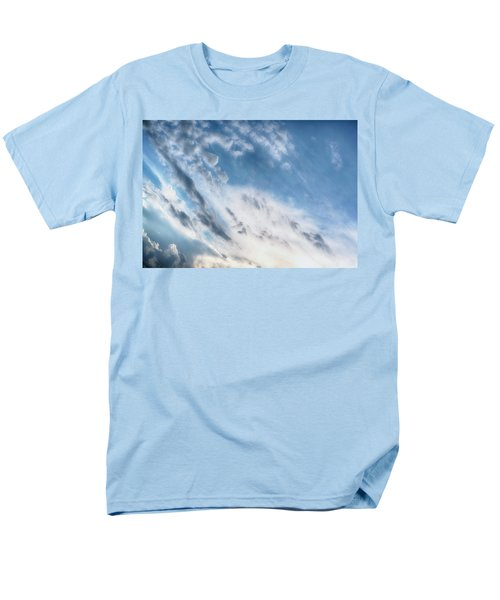 Men's T-Shirt  (Regular Fit) featuring the photograph Angry Clouds by Susan Stone
