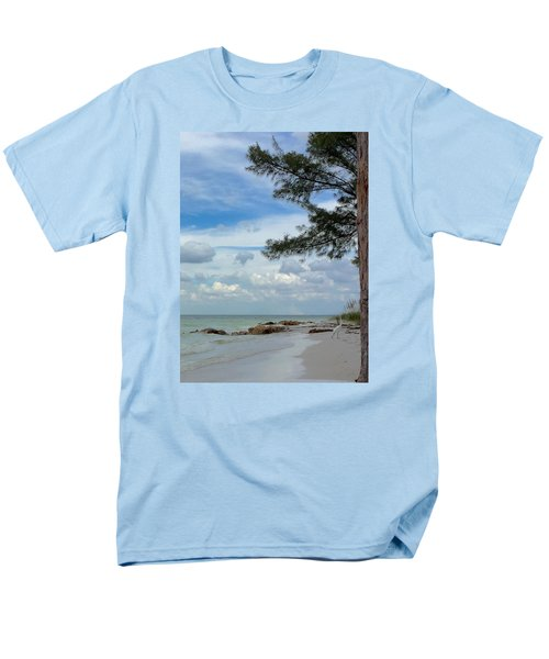 Men's T-Shirt  (Regular Fit) featuring the photograph Anna Maria Island  by Jean Marie Maggi