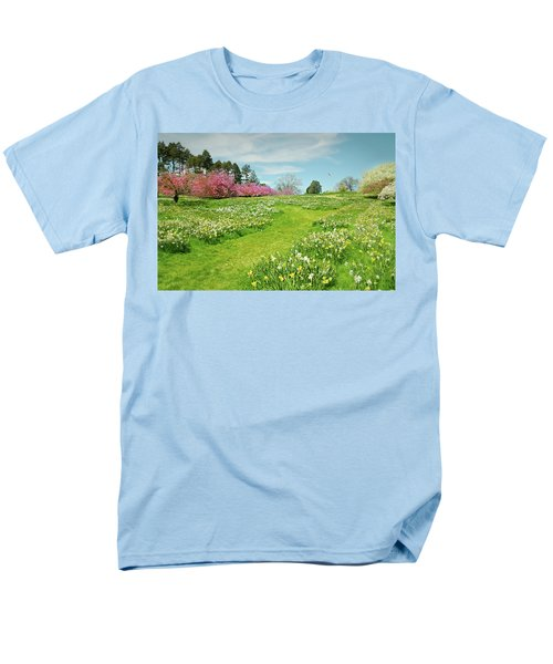 Men's T-Shirt  (Regular Fit) featuring the photograph April Days by Diana Angstadt