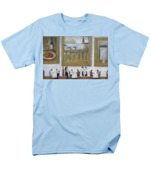 Men's T-Shirt  (Regular Fit) featuring the painting Art Is Long, Life Is Short by Glenn Quist