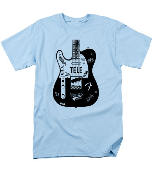 Fender Telecaster 52 Men's T-Shirt  (Regular Fit)