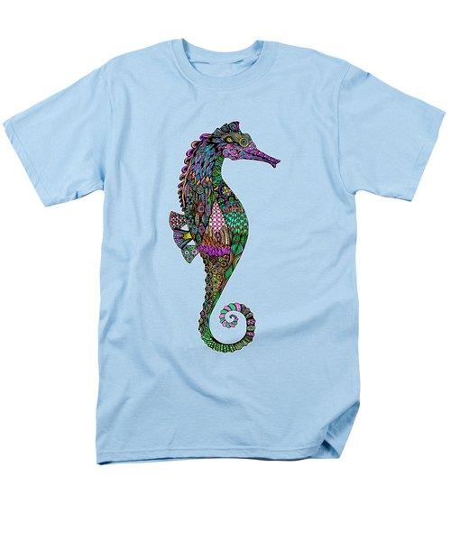 Electric Lady Seahorse  Men's T-Shirt  (Regular Fit)