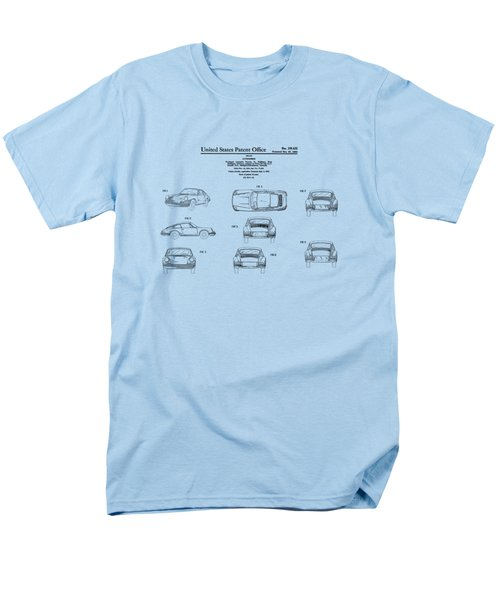 Porsche 911 Patent Men's T-Shirt  (Regular Fit) by Mark Rogan