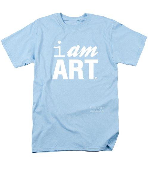 I Am Art- Shirt Men's T-Shirt  (Regular Fit) by Linda Woods