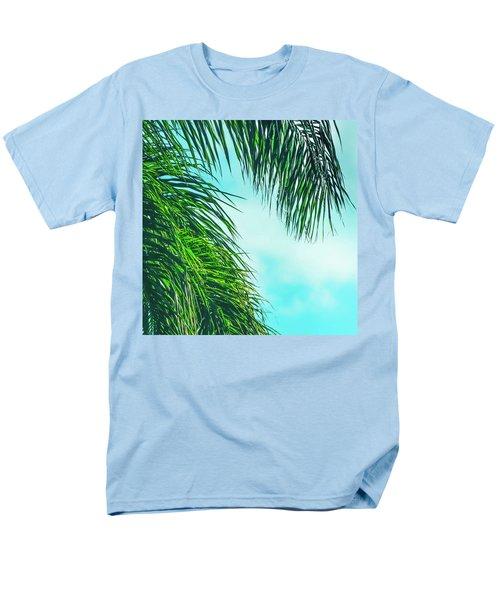 Tropical Palms Maui Hawaii Men's T-Shirt  (Regular Fit) by Sharon Mau