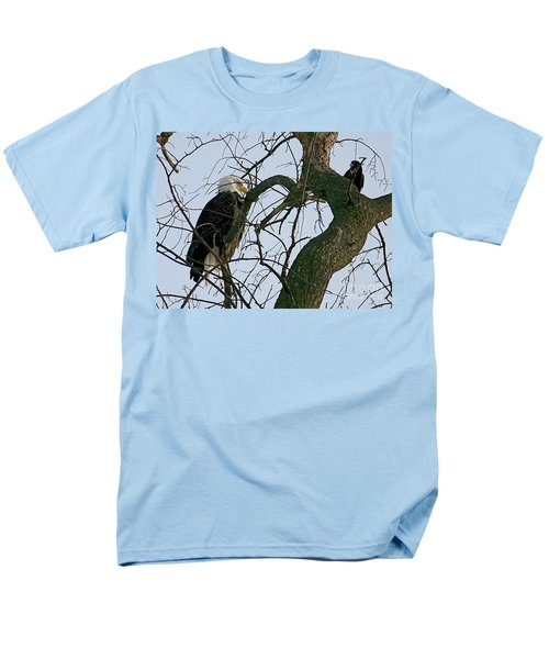 As The Eagle Looks On Men's T-Shirt  (Regular Fit) by Sue Stefanowicz