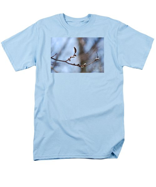 Men's T-Shirt  (Regular Fit) featuring the photograph Aspen Catkins 20120314_33a by Tina Hopkins