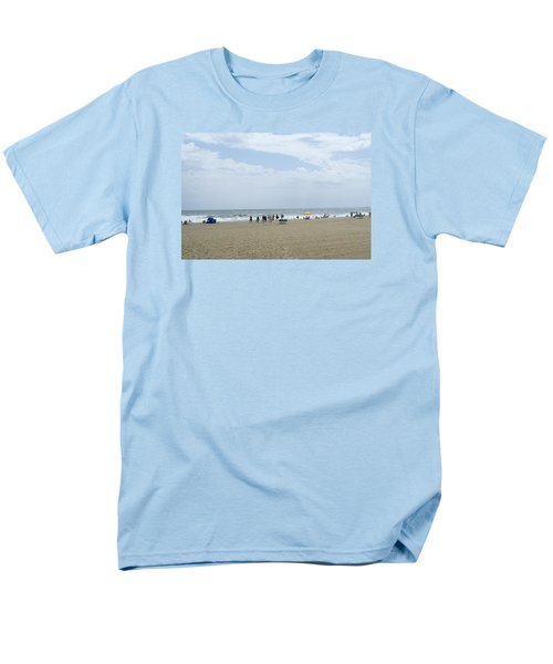 Men's T-Shirt  (Regular Fit) featuring the photograph At The Beach by Heidi Poulin