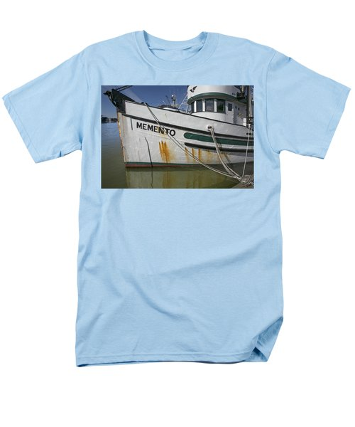 At The Dock Men's T-Shirt  (Regular Fit) by Elvira Butler