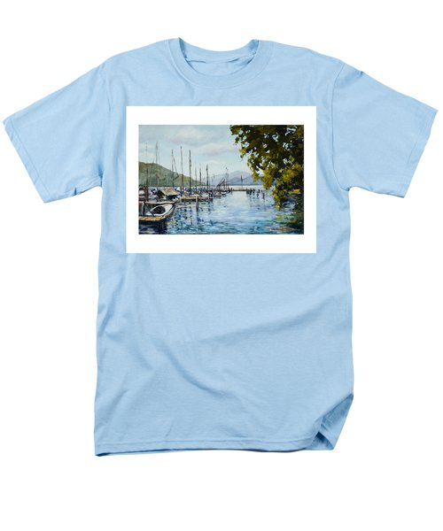 Attersee Austria Men's T-Shirt  (Regular Fit) by Alexandra Maria Ethlyn Cheshire