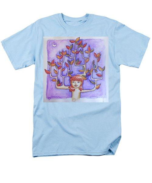 Autumn Moon Men's T-Shirt  (Regular Fit) by Whitney Morton