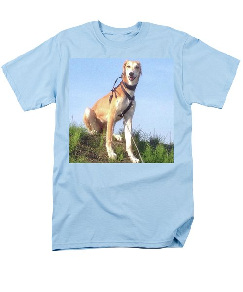 Ava-grace, Princess Of Arabia  #saluki Men's T-Shirt  (Regular Fit) by John Edwards