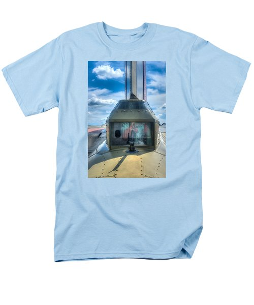 Men's T-Shirt  (Regular Fit) featuring the photograph B17 Tail Gunner Position by Gary Slawsky