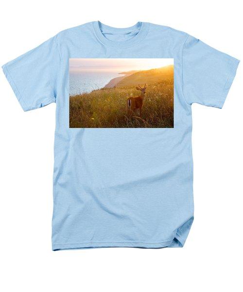 Baby Deer Men's T-Shirt  (Regular Fit) by Evgeny Vasenev