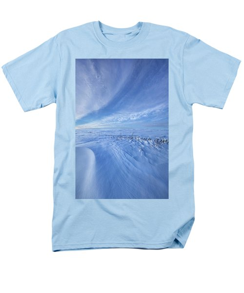 Men's T-Shirt  (Regular Fit) featuring the photograph Baby It's Cold Outside by Phil Koch