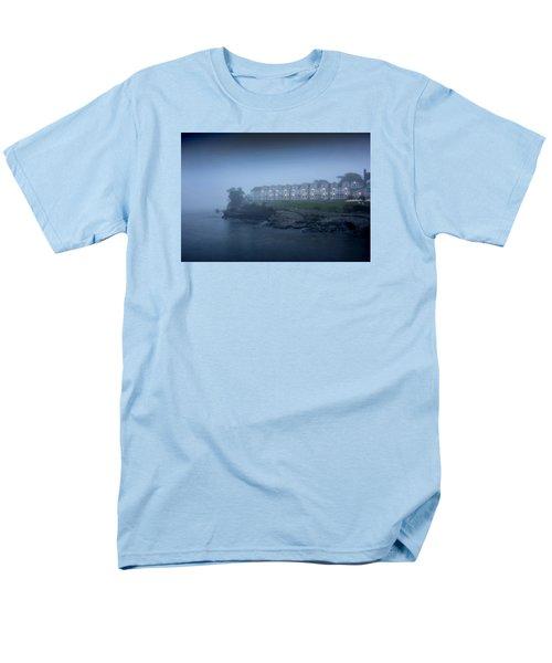 Bar Harbor Inn - Stormy Night Men's T-Shirt  (Regular Fit)