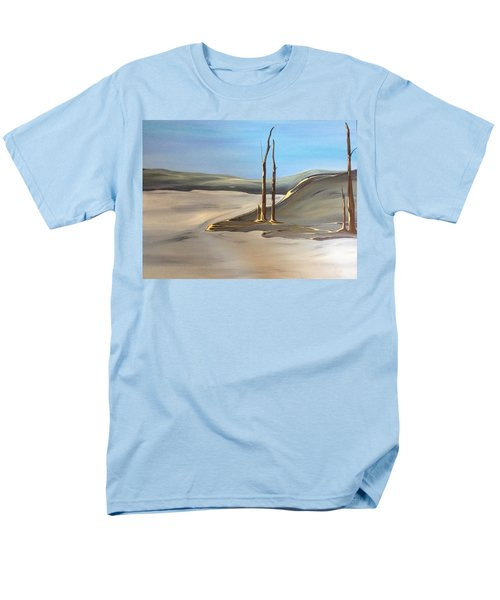 Men's T-Shirt  (Regular Fit) featuring the painting Barren by Pat Purdy