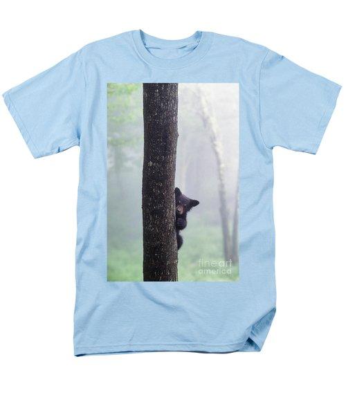 Bashful Bear Cub - Fs000230 Men's T-Shirt  (Regular Fit) by Daniel Dempster