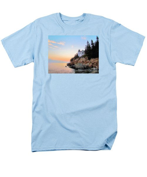 Bass Harbor Sunset II Men's T-Shirt  (Regular Fit) by Elizabeth Dow