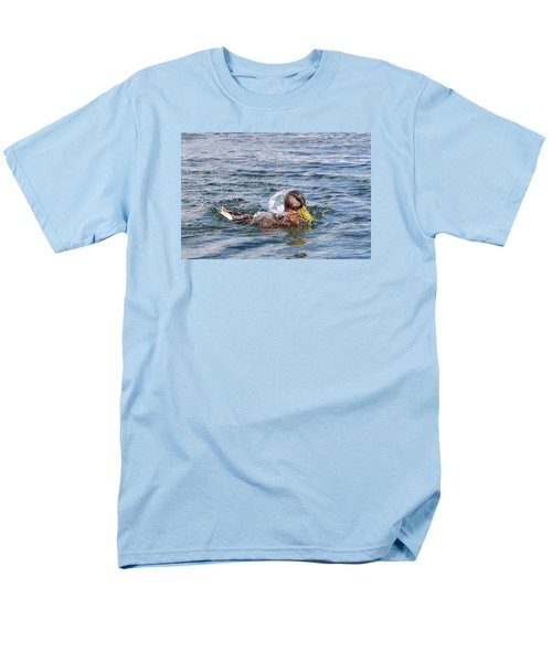 Men's T-Shirt  (Regular Fit) featuring the photograph Bath Time by Glenn Gordon