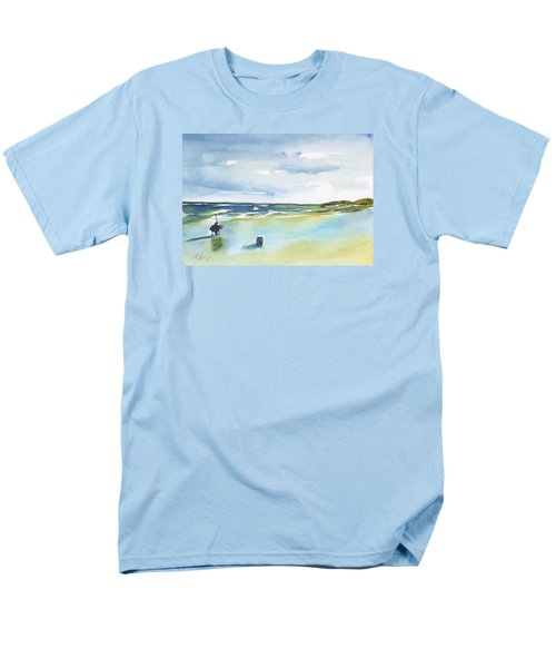 Beach Fishing Men's T-Shirt  (Regular Fit) by Frank Bright