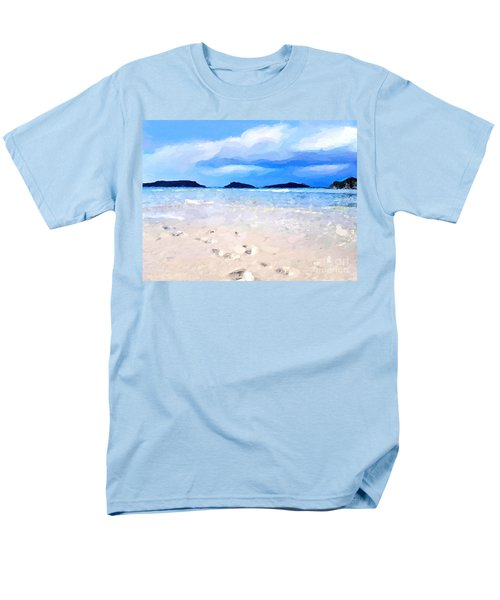 Beach Walk Men's T-Shirt  (Regular Fit) by Anthony Fishburne