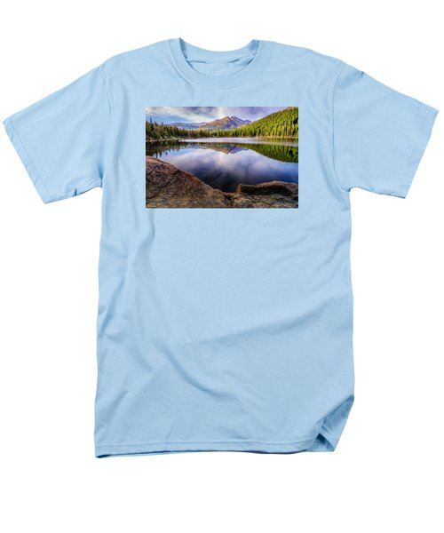 Bear Lake 3 Men's T-Shirt  (Regular Fit) by Mary Angelini