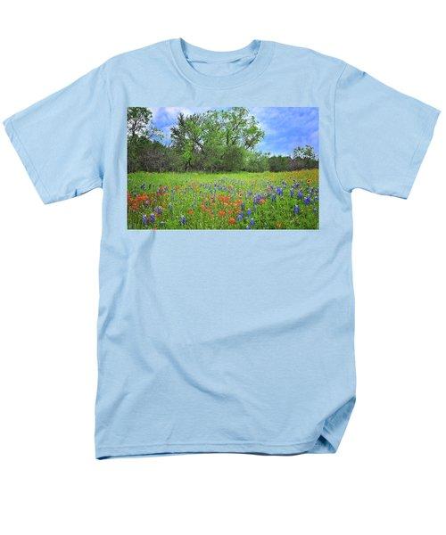 Beautiful Texas Spring Men's T-Shirt  (Regular Fit) by Lynn Bauer