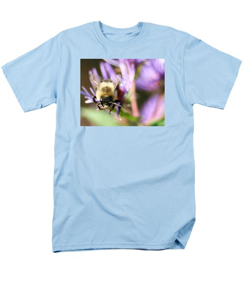 Bee Mustache Men's T-Shirt  (Regular Fit)