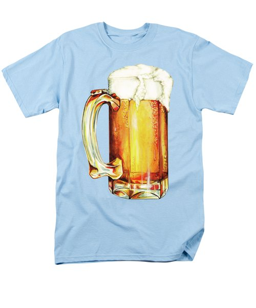 Beer Pattern Men's T-Shirt  (Regular Fit) by Kelly Gilleran