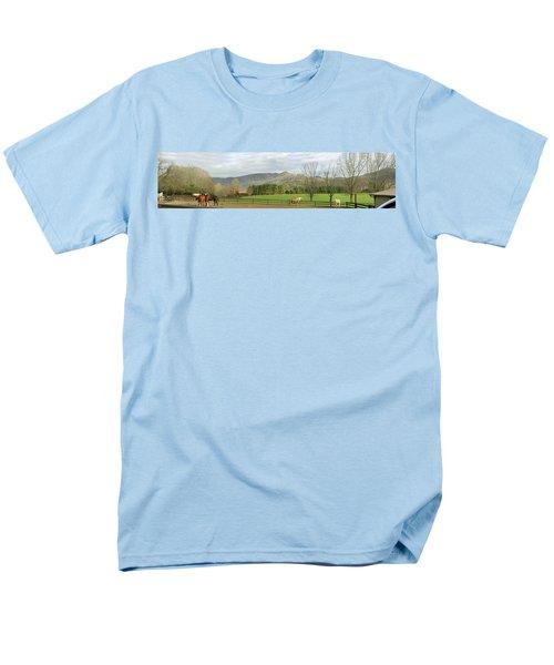 Behind The Dillard House Restaurant Men's T-Shirt  (Regular Fit) by Jerry Battle