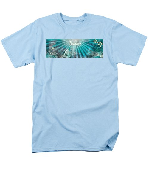 Believe By Sherri Of Palm Springs Men's T-Shirt  (Regular Fit) by Sherri's Of Palm Springs