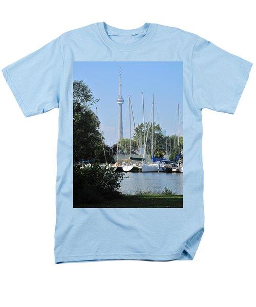 Beyond The Trees  Men's T-Shirt  (Regular Fit) by Ian  MacDonald